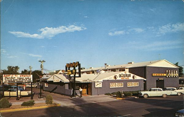 The Embers Steak House and Motel Colorado Springs Walter D. Warren