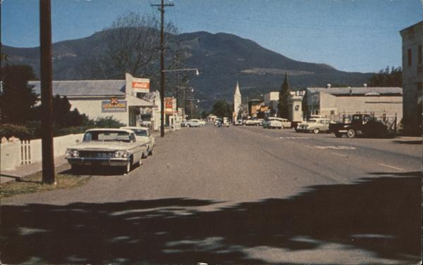 Main Street Kelseyville California