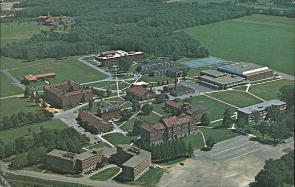Aerial View of St. Bonaventure University Olean New York
