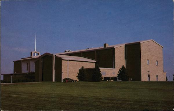 Earl C. Hargrove Chapel - Classroom Building Lincoln Illinois