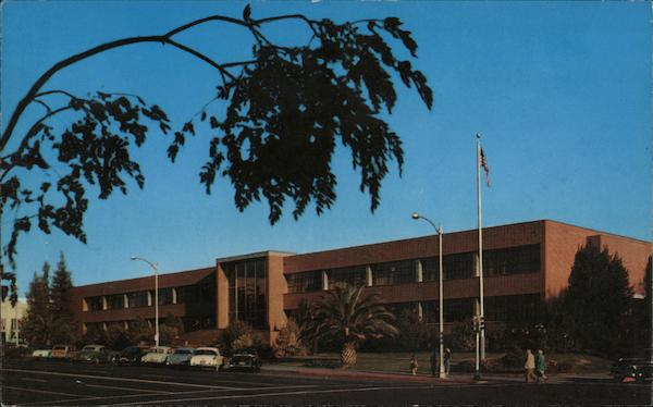 City Hall Fresno Ca Postcard