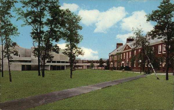 State University Of New York At Fredonia Mail: The State University College Fredonia, NY Postcard
