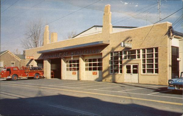 Police and Fire Department Monticello New York