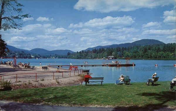 Lake Placid Municipal Bathing Beach New York Jim Page