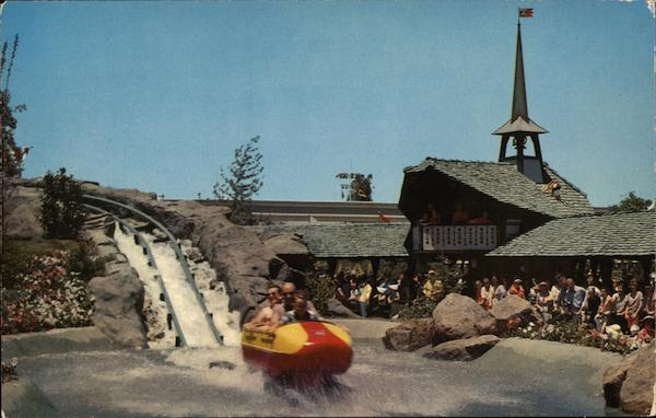 Bobsled - Disneyland Anaheim California