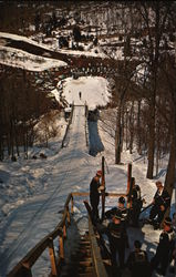 Suicide Hill - Ski Jumping