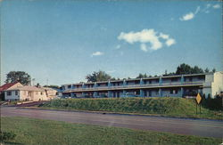 Blue Cloud Motel Postcard