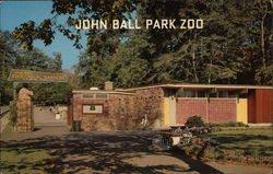 Entrance to John Ball Park Zoo