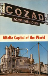 Cozad, Alfalfa Capital of the World