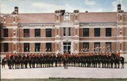 Royal Canadian Mounted Police in Formation
