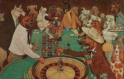Roulette is an Exciting Game - Dogs Playing Roulette