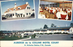 Auberge de la Colline Motel Court