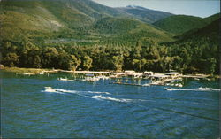 Edgewater Resort, Soda Bay Postcard