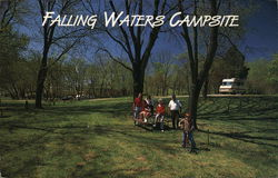 Falling Waters Campsite Postcard