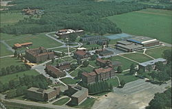 Aerial View of St. Bonaventure University