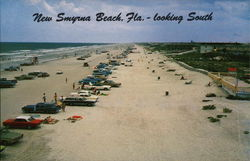 Looking South on New Smyrna Beach