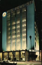 Eleven-Story Gulf American Building Postcard