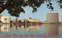 Lake Merritt and the Oakland Skyline