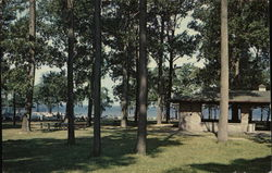 Point Gratiot Park Postcard