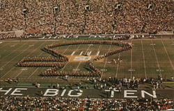 The Stanford Band Outlines its Unnatural Axe at the 1972 Rose Bowl