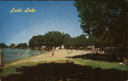 Lodi Lake Postcard