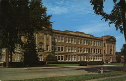 Wellsville Central School Postcard