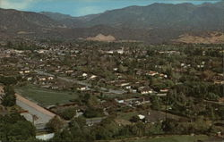 View of the Beautiful La Canada - La Crescenta Valley