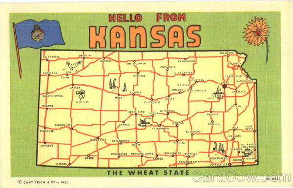 Hello From Kansas Large Letter