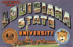 Greetings From La. State University