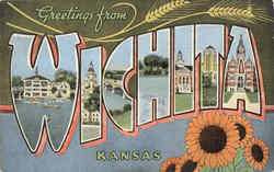 Greetings From Wichita Postcard