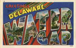 Greetings From Delaware Water Gap