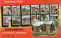 Greetings From Purdue University