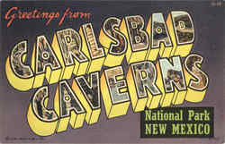 Greetings From Carlsbad Caverns National Park