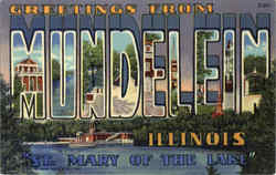 Greetings From Mundelein Postcard