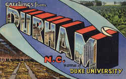 Greetings From Durham