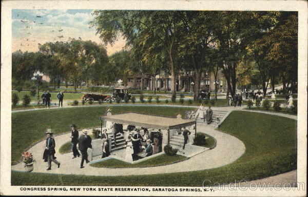 Congress Spring, New York State Reservation Saratoga Springs