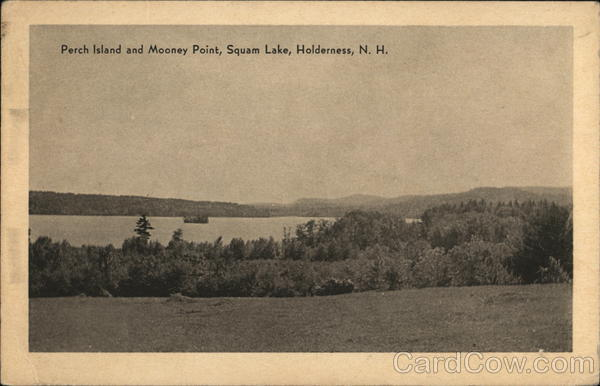 Perch Island and Mooney Point, Squam Lake Holderness New Hampshire