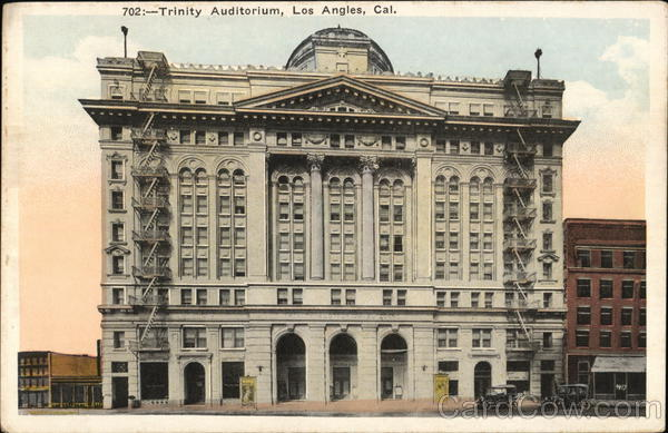 Trinity Auditorium Los Angeles California