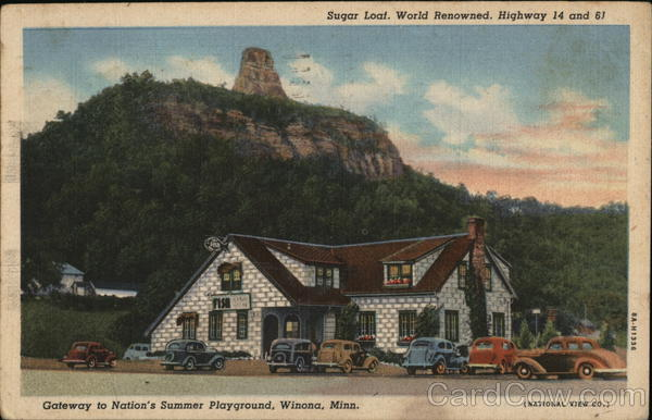 Sugar Loaf Winona Minnesota