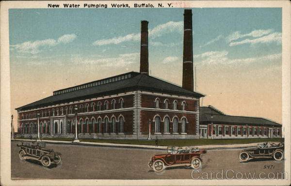 New Water Pumping Works Buffalo New York