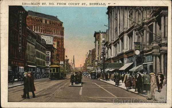 Main St. No. From Court St. Buffalo New York