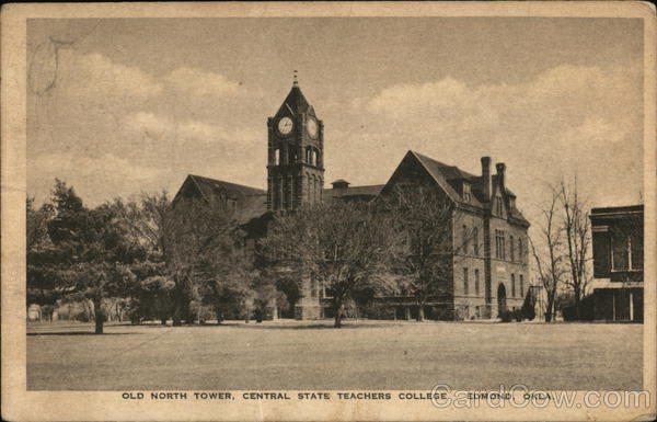 Old North Tower, Central State Teachers College Edmond Oklahoma