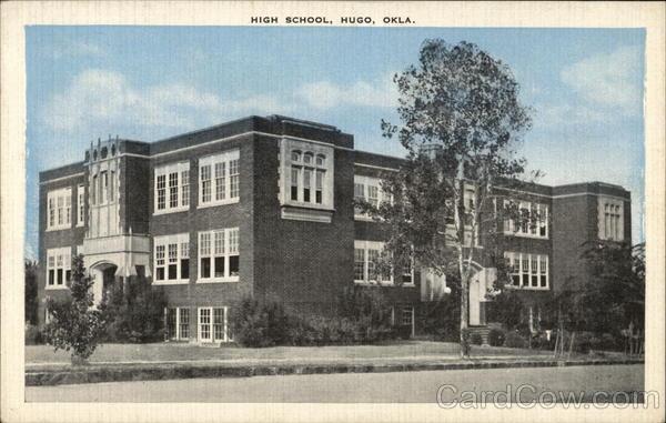 High School Hugo Oklahoma