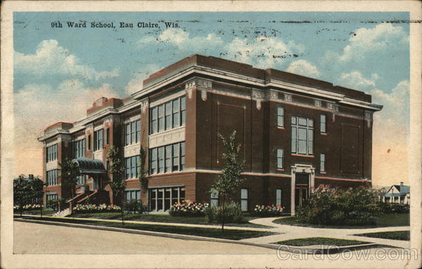 9th Ward School Eau Claire Wisconsin