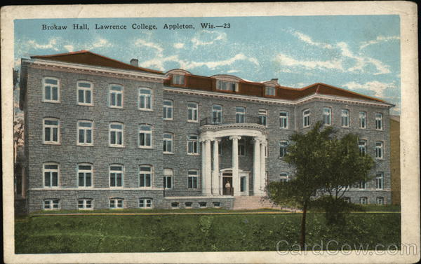 Brokaw Hall, Lawrence College Appleton Wisconsin