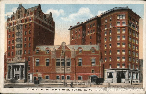 YMCA and Men's Hotel Buffalo New York