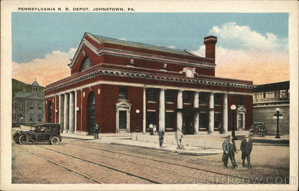 Pennsylvania RR Depot Johnstown Depots