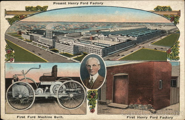 Henry Ford Factory Dearborn Michigan