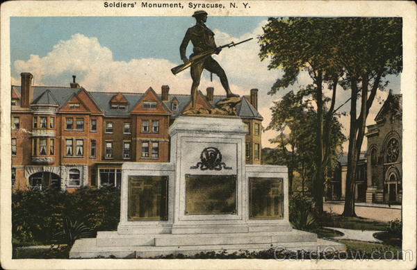 Soldiers' Monument Syracuse New York
