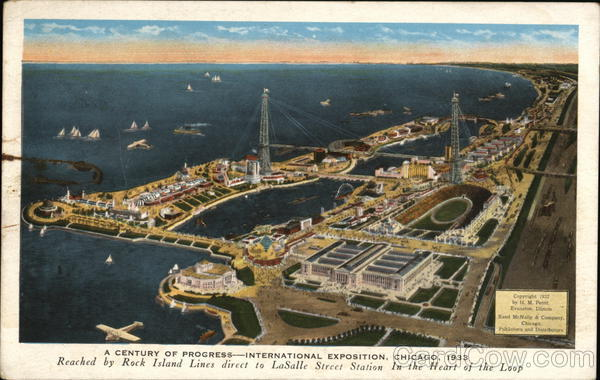 A Century of Progress - International Exposition, Chicago, 1933